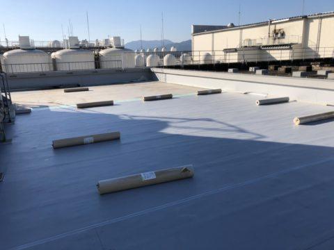 ビル屋上 防水工事